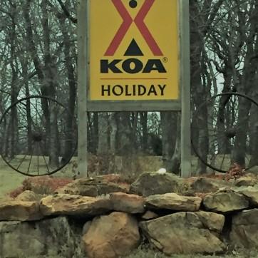 KOA just east of Oklahoma City